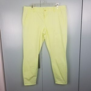 GAP Neon green skinny pants size 14 -C8